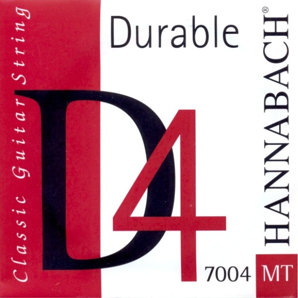 "Hannabach 7004 MT - ""Durable""- d4 Konzertgitarre - medium"